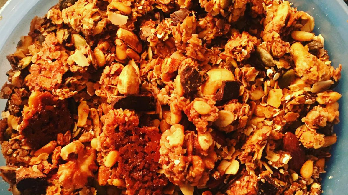 Chocolade granola - Chocolade granola