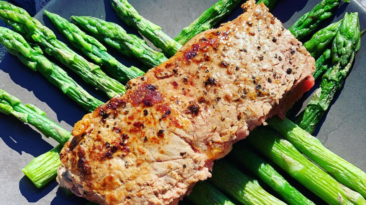 Biefstuk met asperges - Biefstuk met asperges