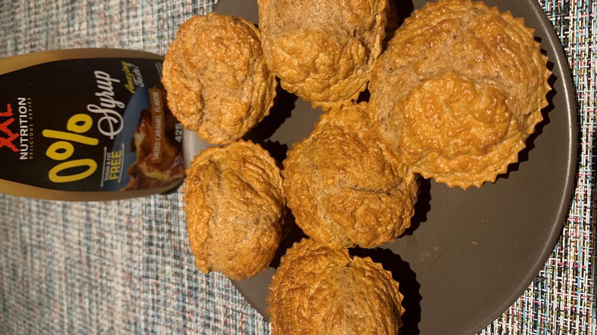 Bagelmuffins met syroop - Bagelmuffins met syroop